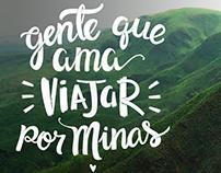Lettering Globo Minas