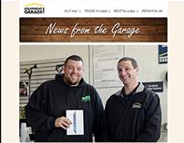 Responsive Email Newsletters - Equipment Garage
