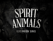 Spirit Animals Illustration Series