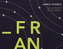 James Franck Poster