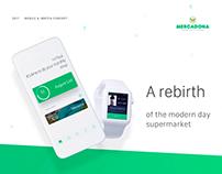 Mercadona Supermarket App Concept