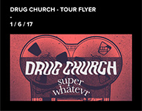 Drug Church - Tour Flyer