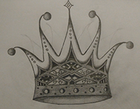 Joker Crown Drawing