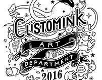 CustomInk Art Department T-shirts
