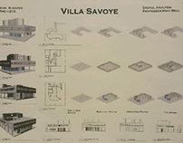 DIGITAL GRAPHICAL ANALYSIS OF THE VILLA SAVOYE