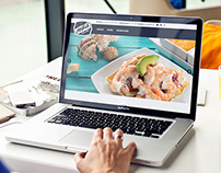ppfish, website for a seafood restaurant