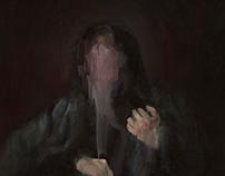 Four Small Paintings: Dark
