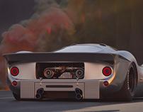 Desert Run - Ferrari 330P