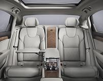 Volvo S90L Interior - China