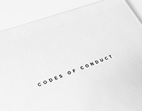 Codes of Conduct (Handout)