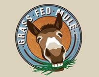 Grass Fed Mule Logo