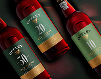 Offley Aged Tawnies — Packaging and Label design