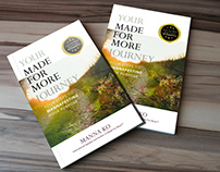 You're Made for More Journey Book Cover Desgin