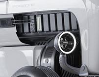"Porsche Tractor Turned Electric 3D Practice ""WIP"""