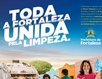 Campanha Prefeitura de Fortaleza - Limpeza Urbana