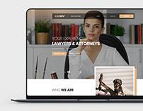 Lawyer Company - PSD template