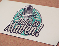 That's so Maven! Logo Design