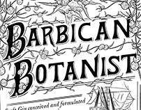 Barbican Botanist Gin Packaging
