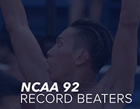 NCAA 92 Record Beaters