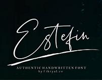 Free Font: Estefin
