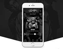AB Radio | Logo & Music Mobile App