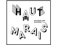 Haut Marais Paris - Instagram