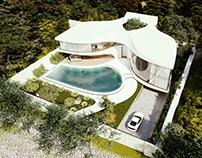 3ree Villa in Karaj, Iran by NEOffice