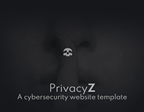 PrivacyZ - A cyber security website template