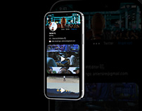 Video Platform UI Design