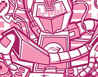 DnB DJ Robot Tee