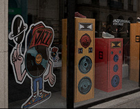 Saucony Originals IDA World DJ Championship promo
