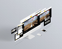 Tsimentotexniki: Responsive Website design