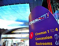 Wayfinding, Signage Design || Beirut Souks Cinemacity