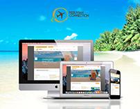 Diseño de página web para Peruvian Connection