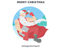 Christmas Card (social media art)