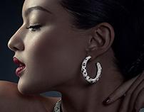 Cartier Advertorial in Hong Kong Tatler ft Mia Kang