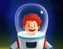 Astronaut #Game Art