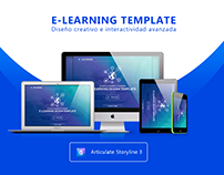E-Learning template • Storyline