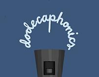 Dodecaphonics logos/shirt designs