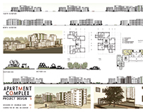 Apartment Complex architectural sheets