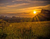 Edinburgh Summer Sunset