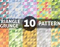 Grunge Triangle Patterns
