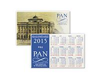 Kalendarzyki wizytówkowe