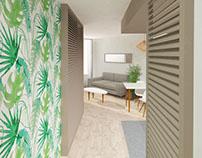 Propuesta reforma duplex y apartamento para Vistasur