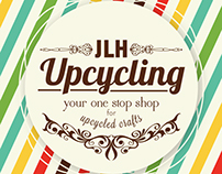JLH Upcycling Business Card & Web Banner Design