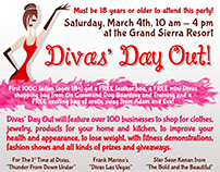 Divas Day Out 2019 and Before Event Branding and Logo