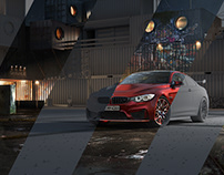 BMW - Underground - Full CGI + Video