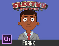 Adobe Character Animator Frank Puppet