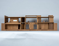 | Model by Vir.Mueller Architects