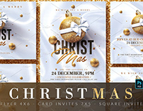 Christmas Invitations & Flyer Templates